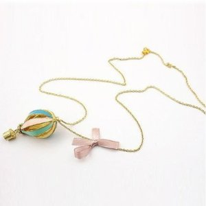 Hot Air Balloon Necklace